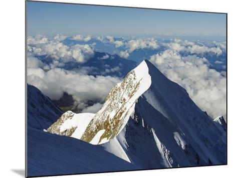 Aiguille De Bionnassay, 4052M, From Mont Blanc, Chamonix, French Alps, France, Europe-Christian Kober-Mounted Photographic Print