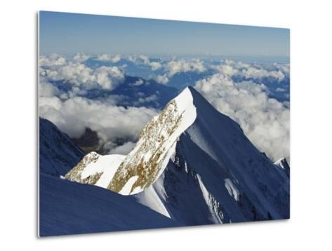 Aiguille De Bionnassay, 4052M, From Mont Blanc, Chamonix, French Alps, France, Europe-Christian Kober-Metal Print
