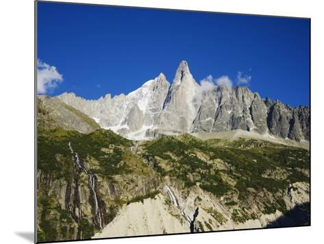 Aiguilles Du Dru, Mont Blanc Range, Chamonix, French Alps, France, Europe-Christian Kober-Mounted Photographic Print