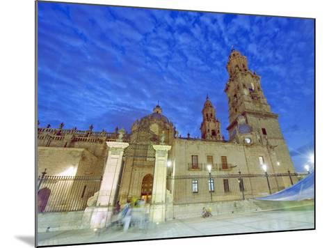 Cathedral, Morelia, Michoacan State, Mexico, North America-Christian Kober-Mounted Photographic Print