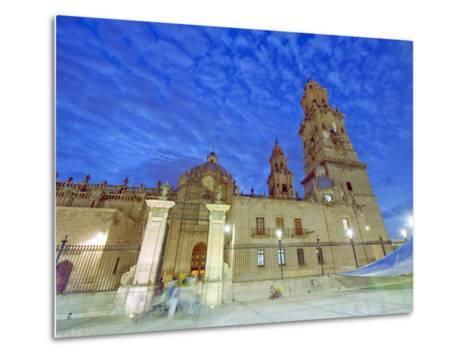 Cathedral, Morelia, Michoacan State, Mexico, North America-Christian Kober-Metal Print