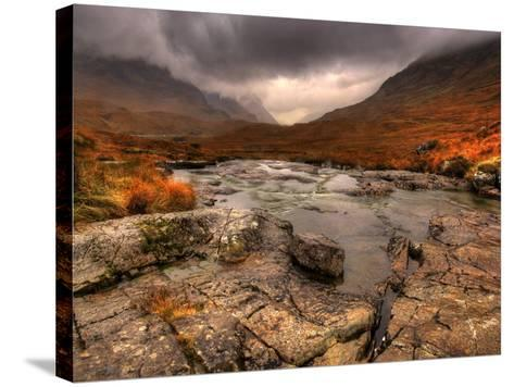 Glencoe, Highlands, Scotland, Uk-David Wogan-Stretched Canvas Print
