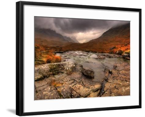 Glencoe, Highlands, Scotland, Uk-David Wogan-Framed Art Print