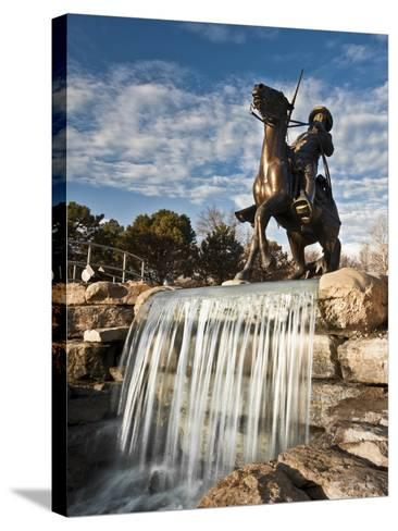 Leavenworth, Kansas, United States of America, North America-Michael Snell-Stretched Canvas Print