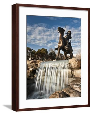 Leavenworth, Kansas, United States of America, North America-Michael Snell-Framed Art Print