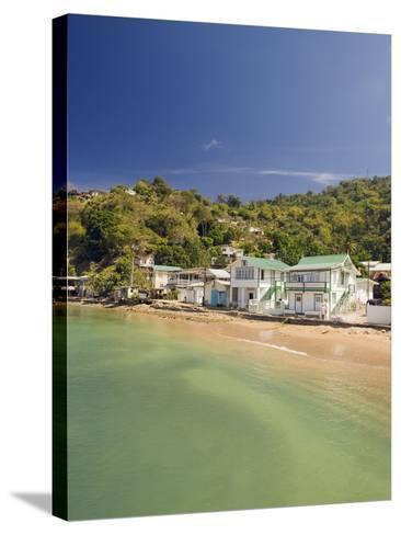 Pirate Bay, Charlotteville, Tobago, Trinidad and Tobago, West Indies, Caribbean, Central America-Christian Kober-Stretched Canvas Print
