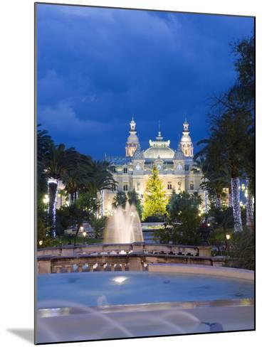 Monte Carlo Casino, Monte Carlo, Principality of Monaco, Cote D'Azur, Europe-Christian Kober-Mounted Photographic Print