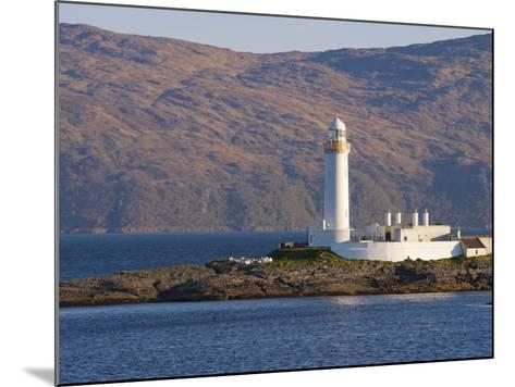 Lismore Lighthouse From the Craignure-Oban Ferry, Highlands, Scotland, United Kingdom, Europe-Patrick Dieudonne-Mounted Photographic Print