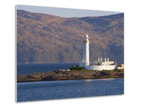 Lismore Lighthouse From the Craignure-Oban Ferry, Highlands, Scotland, United Kingdom, Europe-Patrick Dieudonne-Metal Print