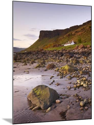 Sunset on Loch Na Keal, Isle of Mull, Inner Hebrides, Scotland, United Kingdom, Europe-Patrick Dieudonne-Mounted Photographic Print