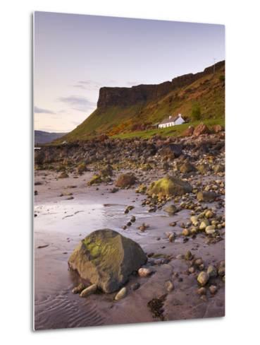 Sunset on Loch Na Keal, Isle of Mull, Inner Hebrides, Scotland, United Kingdom, Europe-Patrick Dieudonne-Metal Print
