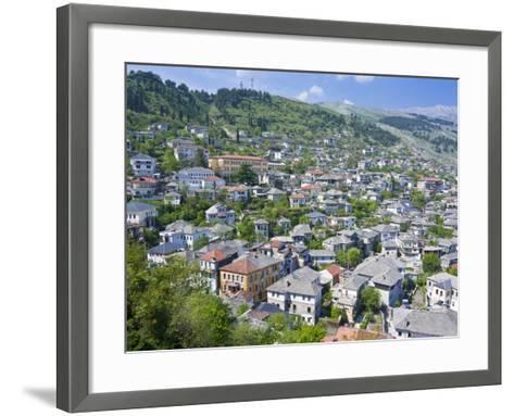 Gjirokaster, UNESCO World Heritage Site, Albania, Europe-Michael Runkel-Framed Art Print