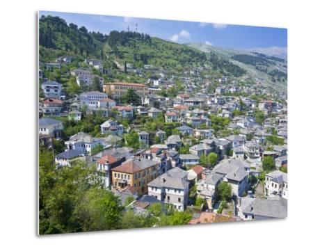 Gjirokaster, UNESCO World Heritage Site, Albania, Europe-Michael Runkel-Metal Print