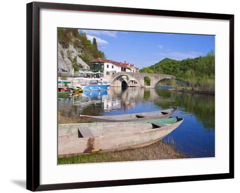 Rijeka Crnojevica, Montenegro, Europe-Michael Runkel-Framed Art Print