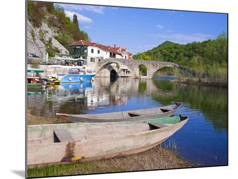 Rijeka Crnojevica, Montenegro, Europe-Michael Runkel-Mounted Photographic Print