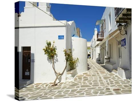 Parikia (Hora), Paros Island, Cyclades, Greek Islands, Greece, Europe--Stretched Canvas Print