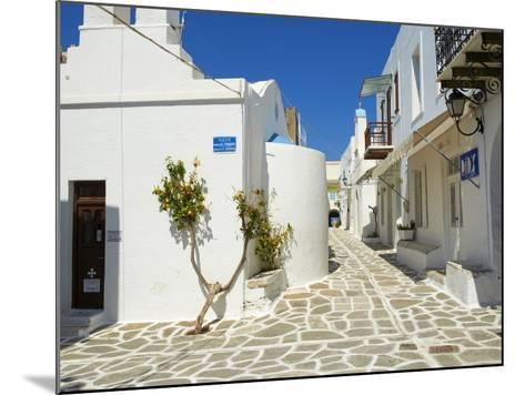 Parikia (Hora), Paros Island, Cyclades, Greek Islands, Greece, Europe--Mounted Photographic Print