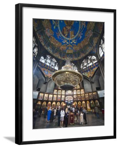 St. Clement of Ohrid Skopje's Cathedral, Skopje, Macedonia, Europe-Michael Runkel-Framed Art Print