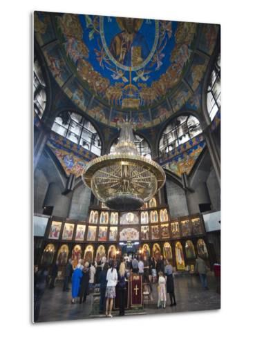 St. Clement of Ohrid Skopje's Cathedral, Skopje, Macedonia, Europe-Michael Runkel-Metal Print