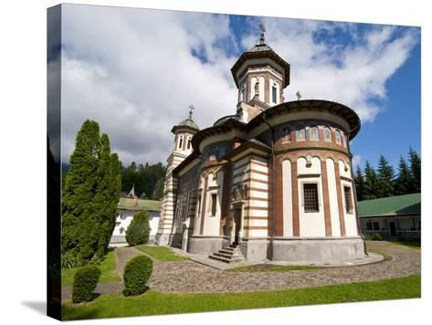 The Sinaia Monastery Was Founded By Prince Mihai Cantacuzino in 1695, Sinaia, Romania, Europe-Michael Runkel-Stretched Canvas Print