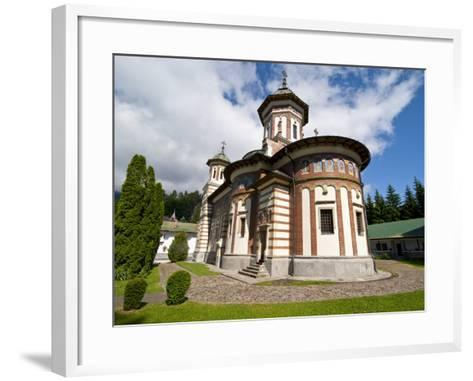The Sinaia Monastery Was Founded By Prince Mihai Cantacuzino in 1695, Sinaia, Romania, Europe-Michael Runkel-Framed Art Print