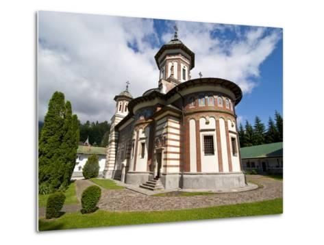 The Sinaia Monastery Was Founded By Prince Mihai Cantacuzino in 1695, Sinaia, Romania, Europe-Michael Runkel-Metal Print