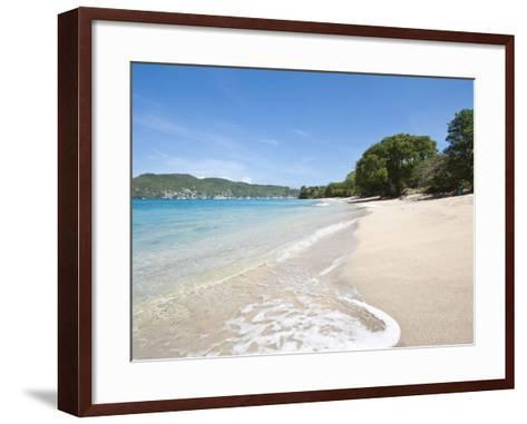 Lower Bay, Bequia, St. Vincent and the Grenadines, Windward Islands, West Indies, Caribbean-Michael DeFreitas-Framed Art Print