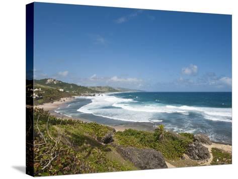 Bathsheba Beach, Barbados, Windward Islands, West Indies, Caribbean, Central America-Michael DeFreitas-Stretched Canvas Print