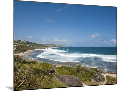 Bathsheba Beach, Barbados, Windward Islands, West Indies, Caribbean, Central America-Michael DeFreitas-Mounted Photographic Print