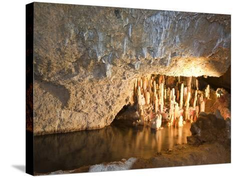 Harrison's Cave, Barbados, Windward Islands, West Indies, Caribbean, Central America-Michael DeFreitas-Stretched Canvas Print