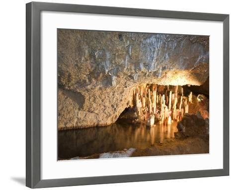 Harrison's Cave, Barbados, Windward Islands, West Indies, Caribbean, Central America-Michael DeFreitas-Framed Art Print