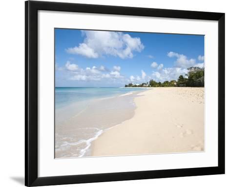 Brighton Beach, Barbados, Windward Islands, West Indies, Caribbean, Central America-Michael DeFreitas-Framed Art Print