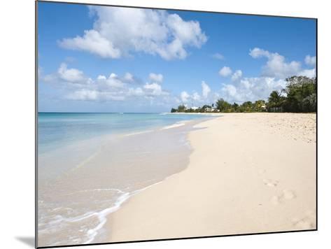 Brighton Beach, Barbados, Windward Islands, West Indies, Caribbean, Central America-Michael DeFreitas-Mounted Photographic Print
