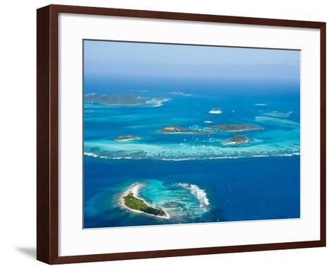 Tobago Cays and Mayreau Island, St. Vincent and the Grenadines, Windward Islands-Michael DeFreitas-Framed Art Print