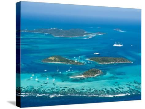 Tobago Cays and Mayreau Island, St. Vincent and the Grenadines, Windward Islands-Michael DeFreitas-Stretched Canvas Print