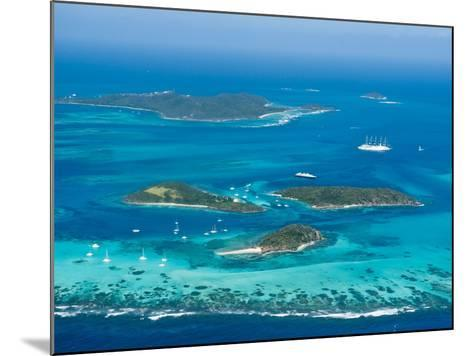Tobago Cays and Mayreau Island, St. Vincent and the Grenadines, Windward Islands-Michael DeFreitas-Mounted Photographic Print