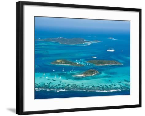 Tobago Cays and Mayreau Island, St. Vincent and the Grenadines, Windward Islands-Michael DeFreitas-Framed Art Print