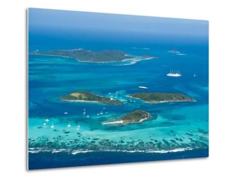 Tobago Cays and Mayreau Island, St. Vincent and the Grenadines, Windward Islands-Michael DeFreitas-Metal Print