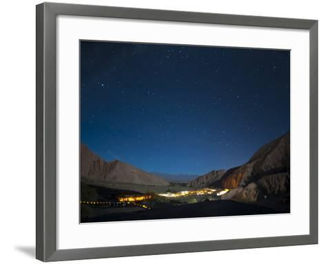 Milky Way, Hotel Alto Atacama, San Pedro De Atacama, Atacama Desert, Chile, South America-Sergio Pitamitz-Framed Art Print