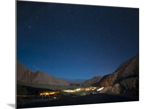 Milky Way, Hotel Alto Atacama, San Pedro De Atacama, Atacama Desert, Chile, South America-Sergio Pitamitz-Mounted Photographic Print