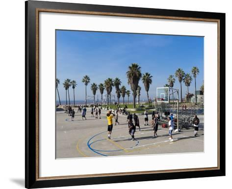 Venice Beach, Los Angeles, California, United States of America, North America-Sergio Pitamitz-Framed Art Print