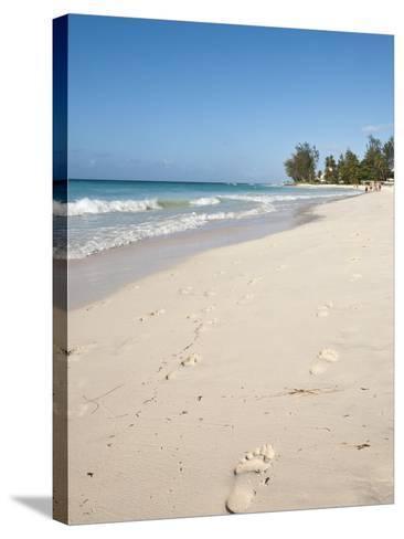 Rockley Beach, Barbados, Windward Islands, West Indies, Caribbean, Central America-Michael DeFreitas-Stretched Canvas Print