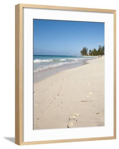 Rockley Beach, Barbados, Windward Islands, West Indies, Caribbean, Central America-Michael DeFreitas-Framed Art Print
