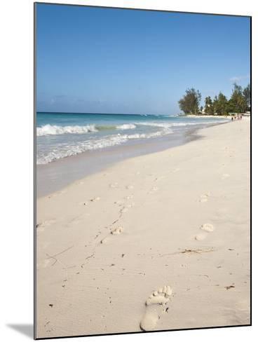 Rockley Beach, Barbados, Windward Islands, West Indies, Caribbean, Central America-Michael DeFreitas-Mounted Photographic Print