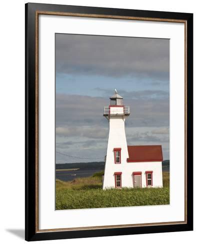 New London Lighthouse, New London, Prince Edward Island, Canada, North America-Michael DeFreitas-Framed Art Print