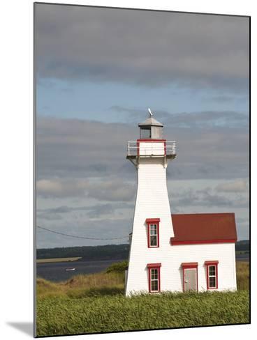 New London Lighthouse, New London, Prince Edward Island, Canada, North America-Michael DeFreitas-Mounted Photographic Print