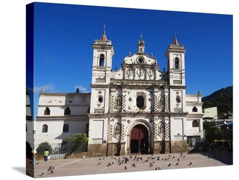 Iglesia Los Dolores, Tegucigalpa, Honduras, Central America-Christian Kober-Stretched Canvas Print