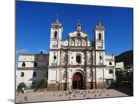 Iglesia Los Dolores, Tegucigalpa, Honduras, Central America-Christian Kober-Mounted Photographic Print