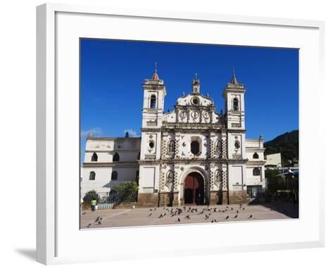 Iglesia Los Dolores, Tegucigalpa, Honduras, Central America-Christian Kober-Framed Art Print