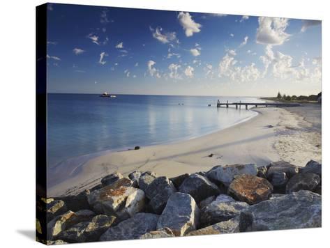 Busselton Beach at Dawn, Western Australia, Australia, Pacific-Ian Trower-Stretched Canvas Print